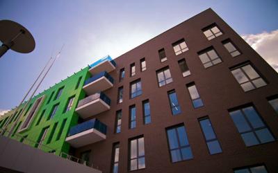 Навесной вентилируемый фасад из композита в Украине, Днепропетровске, Киеве, компания Эклипс