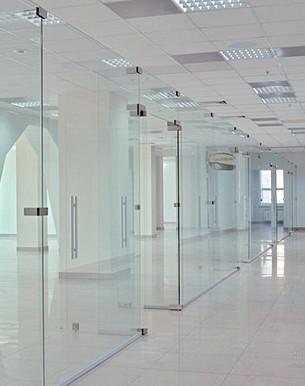 Офисные перегородки, перегородки в офис купить в Днепре, Киеве, Украине,  компания Эклипс