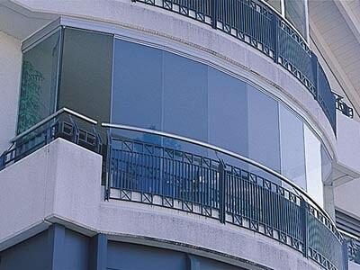 цена Безрамное остекление коттеджа, балкона Киев, Днепр, Украина недорого компания Эклипс