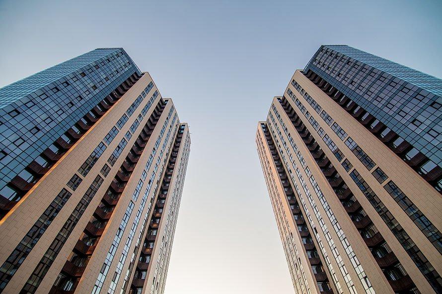 ж/к Панорама фасадное остекление Эклипс