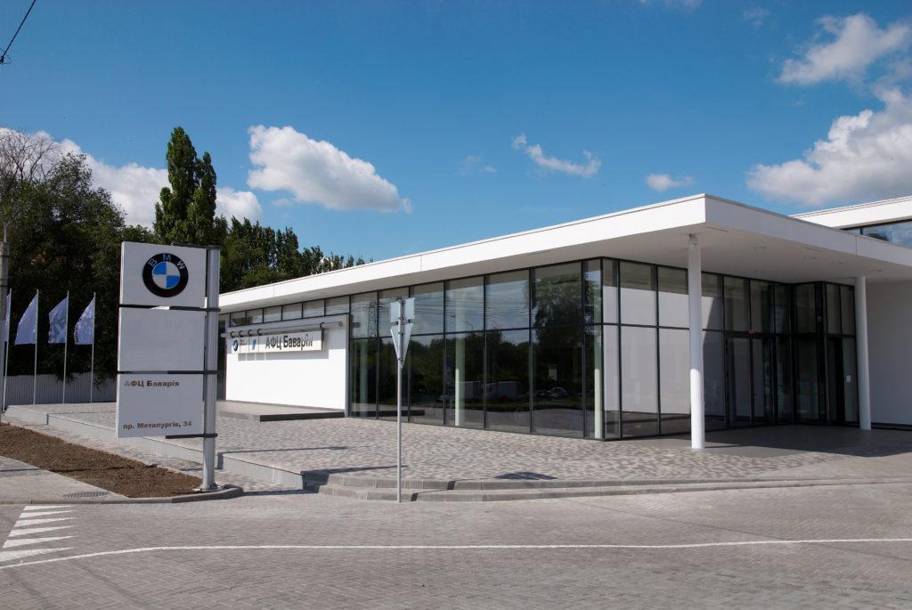 Автосалон BMW 1